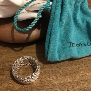Tiffany & Co. ✨Mesh Ring✨Size 6